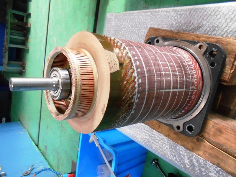 ハイカップモーターの内部構造